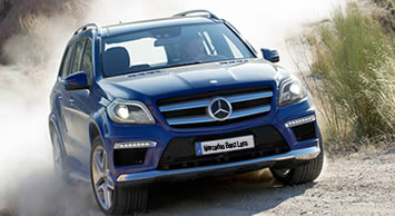 The New 2013 Gl Class Mercedes Benz